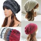 Women Men Unisex Warm Winter Baggy Beanie Knit Crochet Oversized Hat Slouch Cap