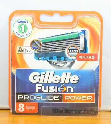 Genuine Gillette Fusion Proglide Power flexball Razor Refill Cartridges 8-Blades