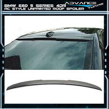 04-10 BMW E60 5-Series Sedan 4Dr 4Door Unpainted ABS Rear AC Style Roof Spoiler