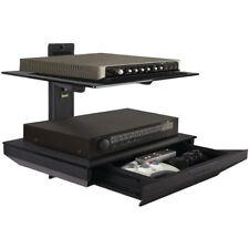 Atlantic Two Tier AV Component Shelf w/Drawer 38435891 TV MOUNTS NEW