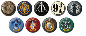 Harry-Potter-25mm-Button-Pin-Badge-Warner-Bros-Officially-Licensed-Magic-Wizard