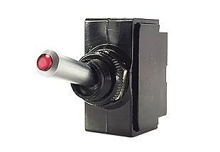 Lighted Red Tip Lens Carling Technologies Toggle Switch ON OFF ON DPDT