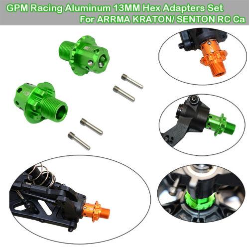 GPM Racing Aluminium 13MM Hex Adapter Set Für ARRMA KRATON SENTON RC Car Auto