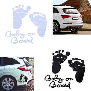 baby on board aufkleber sticker autoaufkleber fu. Black Bedroom Furniture Sets. Home Design Ideas