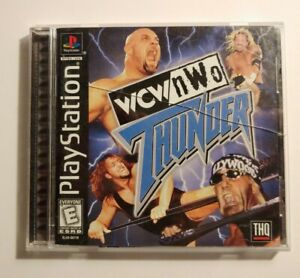 WCW-NWO-Thunder-Sony-PlayStation-PS1-1998-Video-Game-Complete
