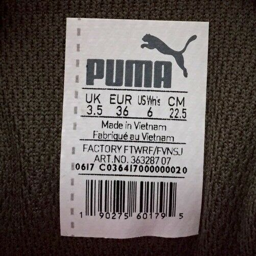 Puma Vikky Platform damen damen damen Basketball Turnschuhe schuhe 363287 07 Olive Rosa Größe 6 2731fe