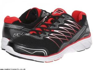 33051a7b63fb BRAND NEW FILA COUNTDOWN 2 MEN S RUNNING SHOES BLACK RED SILVER SIZE ...