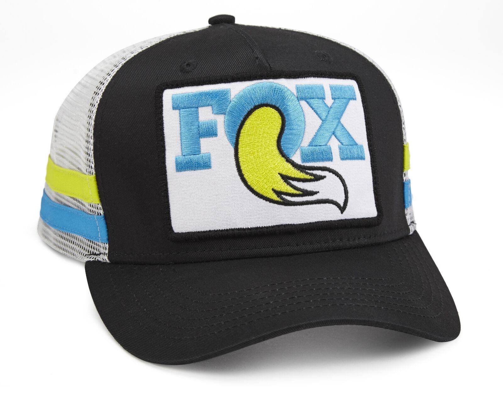 Fox Throwback Trucker A O/S Black-Blue-Yellow > GO CYCLE CYCLE CYCLE SHOP 7ef6cb