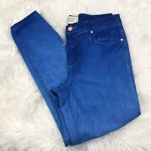 dd720c3861a RACHEL ROY DENIM 30 X 27 Stretch Ankle Jeans Blue Tie Dye Womens