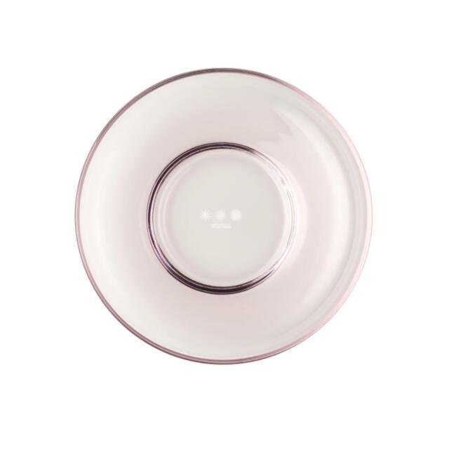 Thomas Sunny Day Teller Tief, Suppenteller, Farbglas, Light Pink, 19 cm, 45119