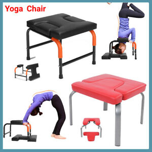 yoga inversion chair headstand bench exercise fitness