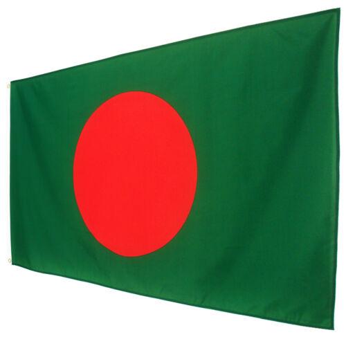 Fahne Bangladesch Querformat 90 x 150 cm Hiss Flagge Bangladesch Nationalflagge