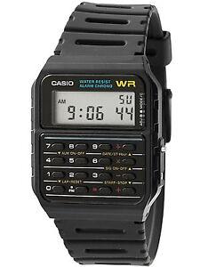 Casio-Men-039-s-CA53W-1-Twincept-Databank-Ani-Digi-Resin-Watch