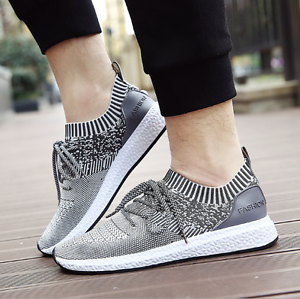 New fashion men 's shoes sports shoes running shoes breathable casual shoes