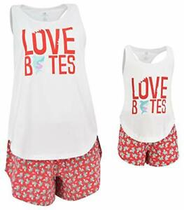 Love-Bites-Mommy-and-Me-Pajama-Outfit-2t-3t-4t-5-6-7-8-Toddler-Kids-Clothes