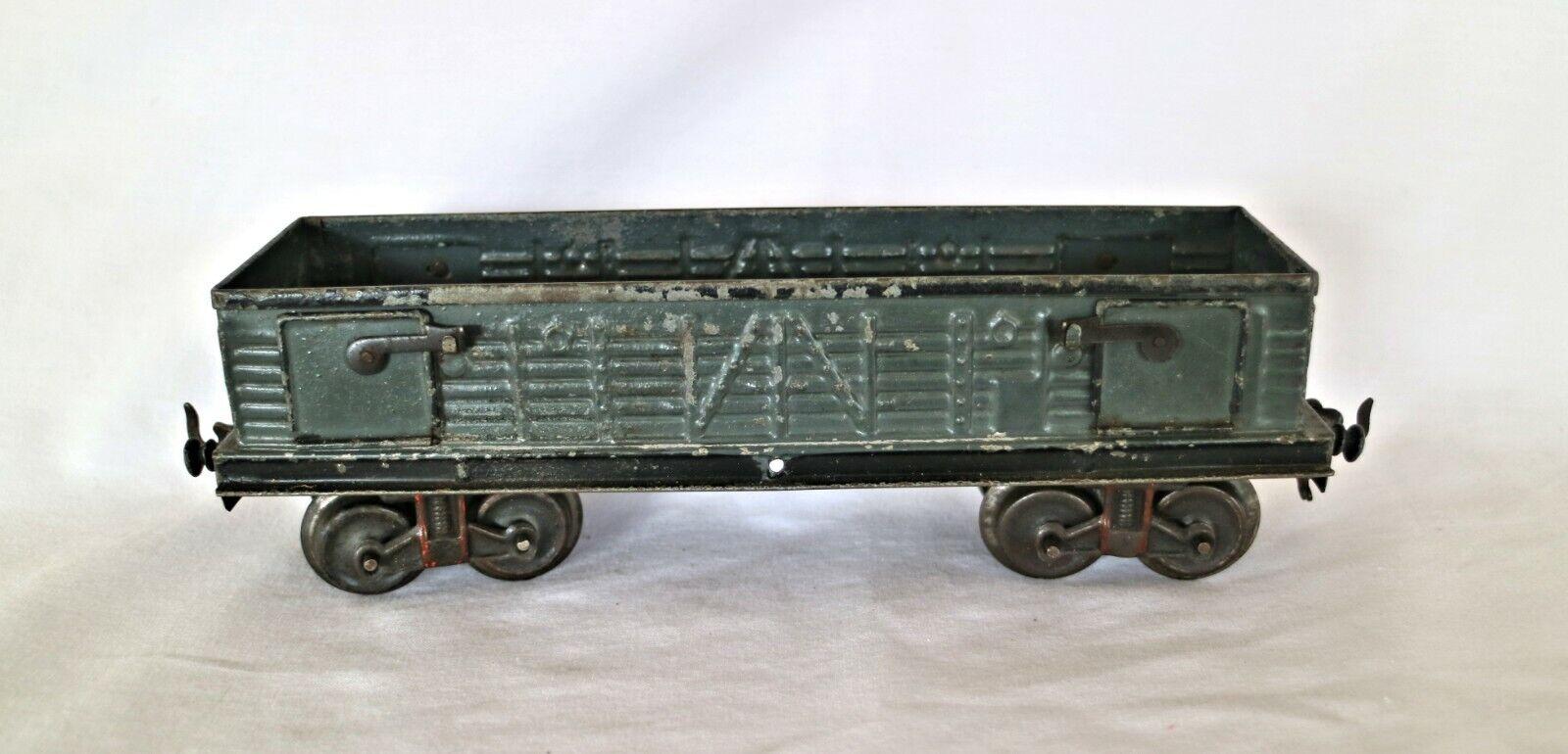 J02O1  Vintage Bing  0 Gauge Open Coal  Wagon with doors 10 547 0