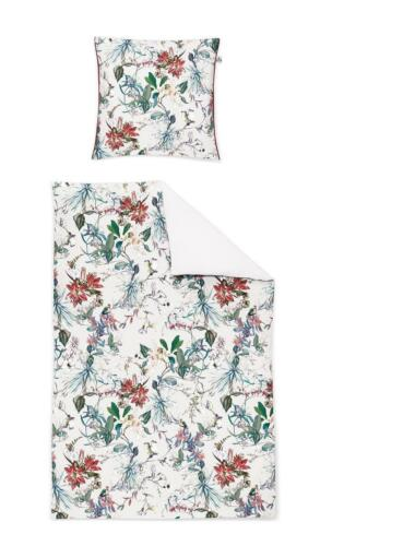 Irisette Mako Satin Digitaldruck Bettwäsche 4 tlg 135x200 80x80 Juwel-K 751637-6