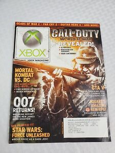 Official XBOX Magazine - Aug 08- CALL OF DUTY - 007- Mortal combat -Issue #86