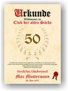 Urkunde-034-Club-der-alten-Saecke-034-18-20-30-40-50-60-70-Geburtstag-Deko-Geschenkidee