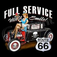 FULL SERVICE DRIVE IN RAT ROD HOT ROD ROUTE 66 HOODIE