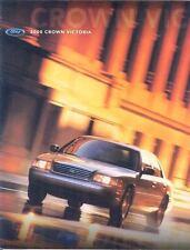 2000 Ford Crown Victoria Brochure Poster mx1587-RW63X7