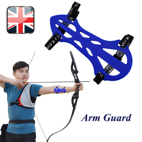 1X Arm Guard Forearm Safe Protective for Archery Target Shooting Skill Player BL