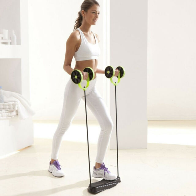 Gym Exercise Workout Abs Fitness Home Abdominal Trainer Resistance Total-body