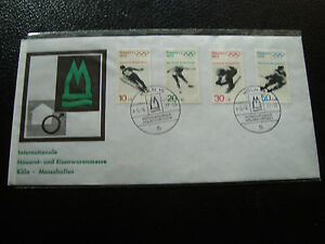 Germany-Rfa-Envelope-5-9-1971-yt-N-544-A-547-cy53-Stamp-Germany