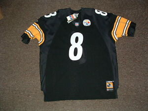 TOMMY MADDOX #8 PITTSBURGH STEELERS HOME AUTHENTIC FOOTBALL JERSEY ...