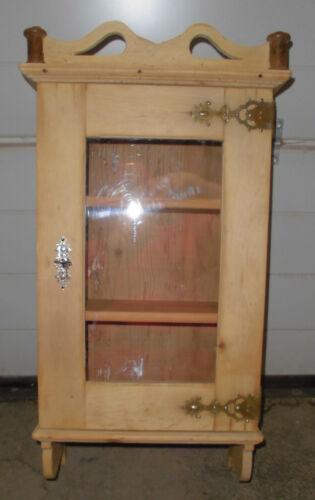 jugendstil vitrine hängeschrank antik wandschrank obstholz ... | {Hängeschrank antik 84}