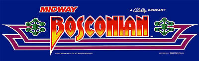 Bosconian Arcade Marquee For Header//Backlit Sign