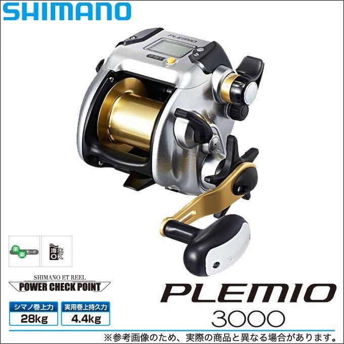 Shimano 15 plemio 3000 RH Big Juego Cocherete Electrico Japón Modelo Nuevo F s con seguimiento