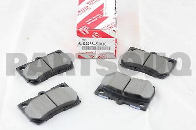 For TOYOTA Genuine Parts Pad Kit Disc Brake 04465-02220 ADVICS PV565H