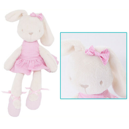 "17/"" Cute Bunny Soft Plush Toys Rabbit Stuffed Animal Baby Kids Gift Animals Doll"