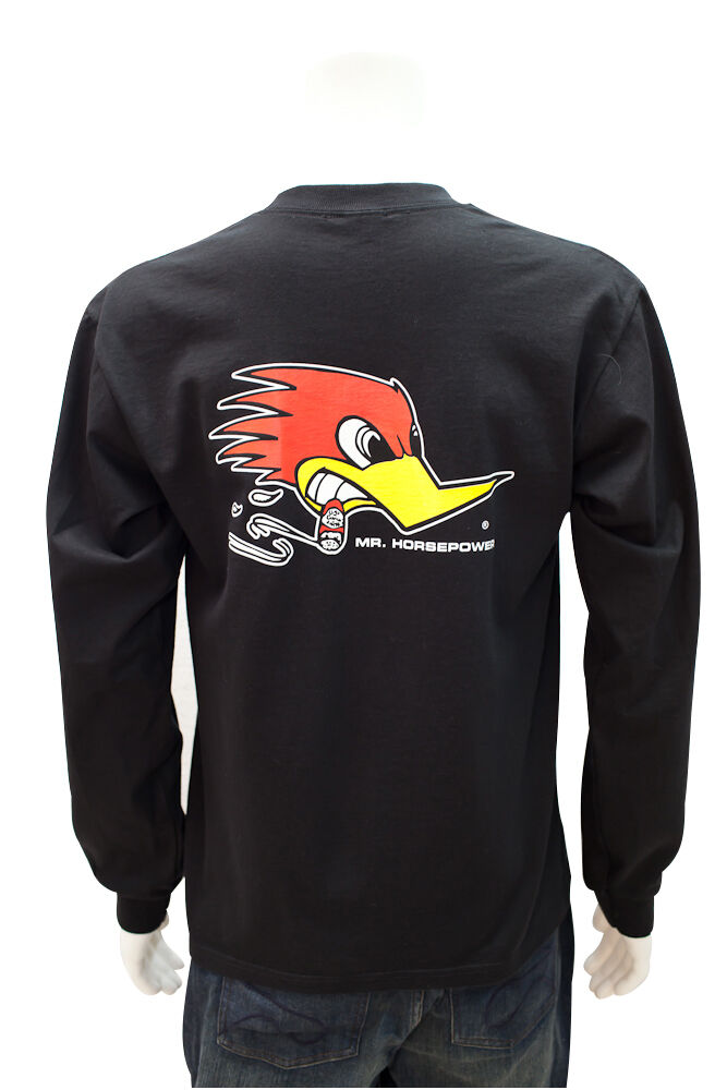 XXL CLAY SMITH MR HORSEPOWER T-SHIRT LONG SLEEVE VTG HOT ROD TEE DRAG RACING 2X