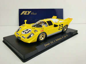 Slot-car-Scalextric-Fly-C22-Ferrari-512-S-Berlinetta-8-SPA-Francorchamps-1970