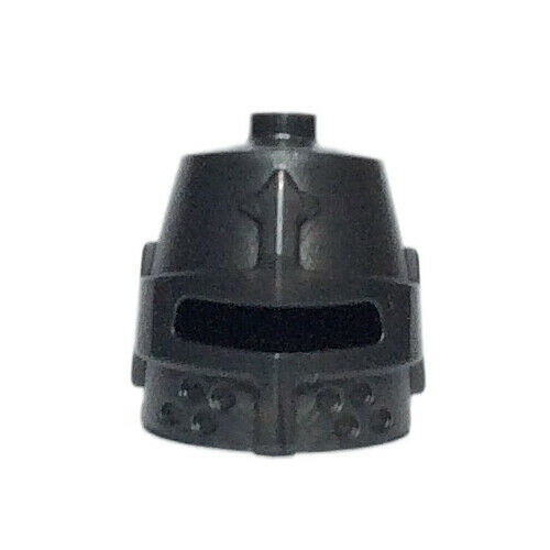 Castle Headgear Helmet Castle Closed Eye Slit Pearl Dark Gray x 5 NEW LEGO
