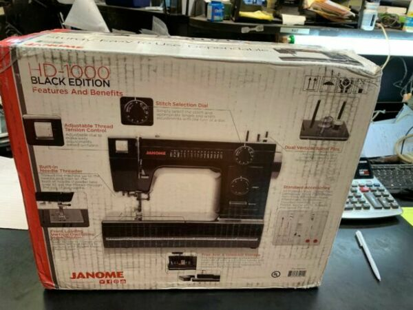 Janome HD1000 Mechanical Sewing Machine Refurbished