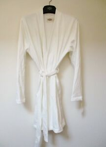167d20bf10f UGG Women s CLARENCE Robe CREAM Knit Size Large  88 MSRP NWT