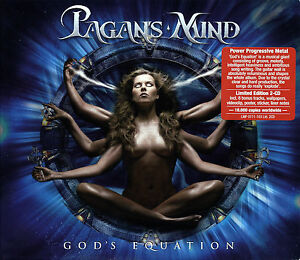 PAGAN-039-S-MIND-God-039-s-Equation-Ltd-2CD-2007-Power-Progressive-Metal