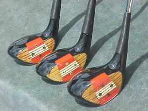 Vintage persimmon wood golf club