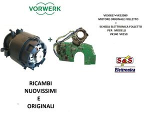 Motore Folletto Vk 150.Vk30827 Vk32089 Motore Scheda Originale Per Aspirapolvere Folletto Vk 140 150 Ebay