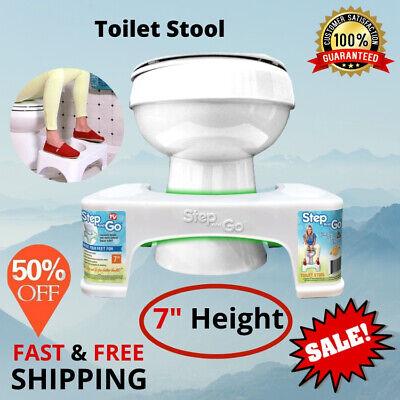 "Toilet Squatty Step Stool 7"" Bathroom Potty Squat Proper ..."
