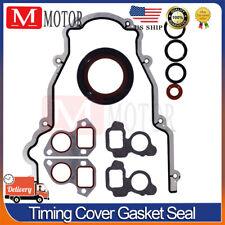 For Gm Chevy Ls Vortec 48 53 57 6 Front Timing Cover Gasket Set Ls1 Ls2 Ls3