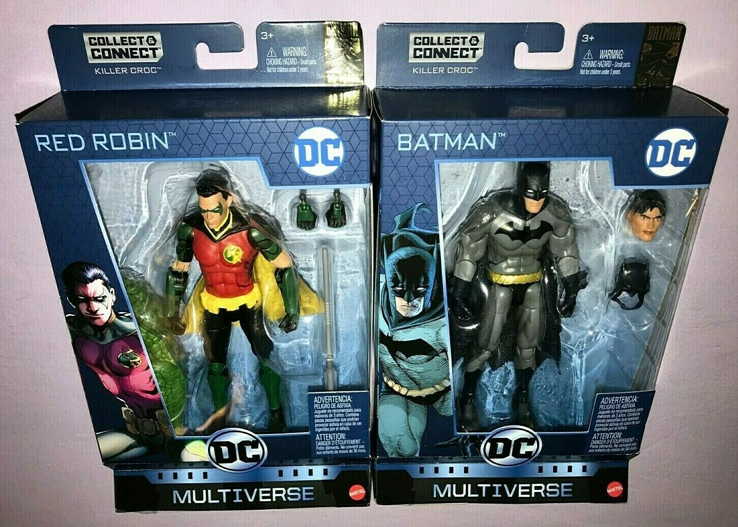 DC Multiverse BATMAN & rot ROBIN BATMAN 80 YEARS NEW
