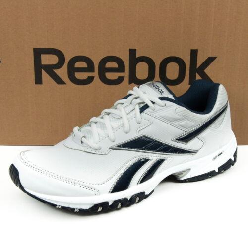 Reebok NECHE DMX RIDE Herrenschuhe Sport Training Weiß//Navy//Silber V64943