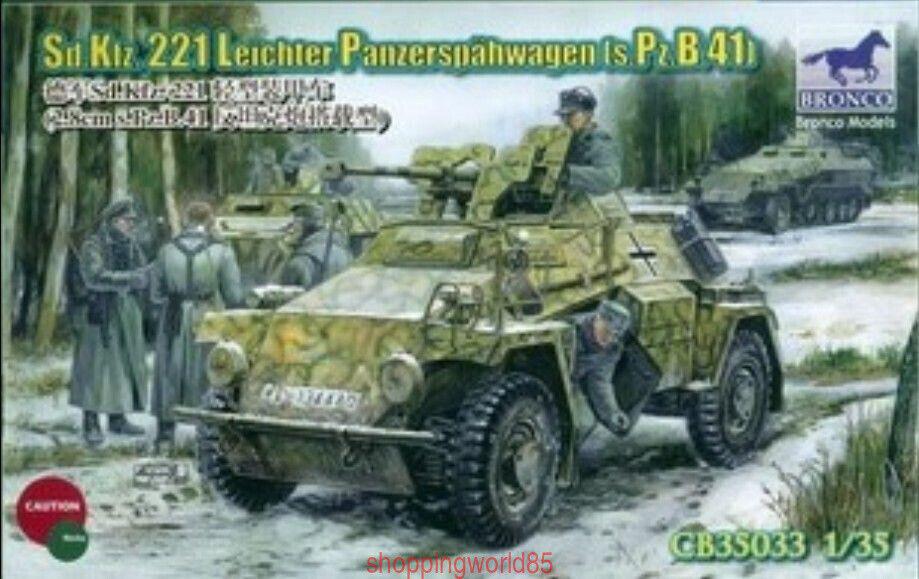 Bronco 1 35 35033 Sd.Kfz.221 Panzerspahwagen s.Pz.B.41