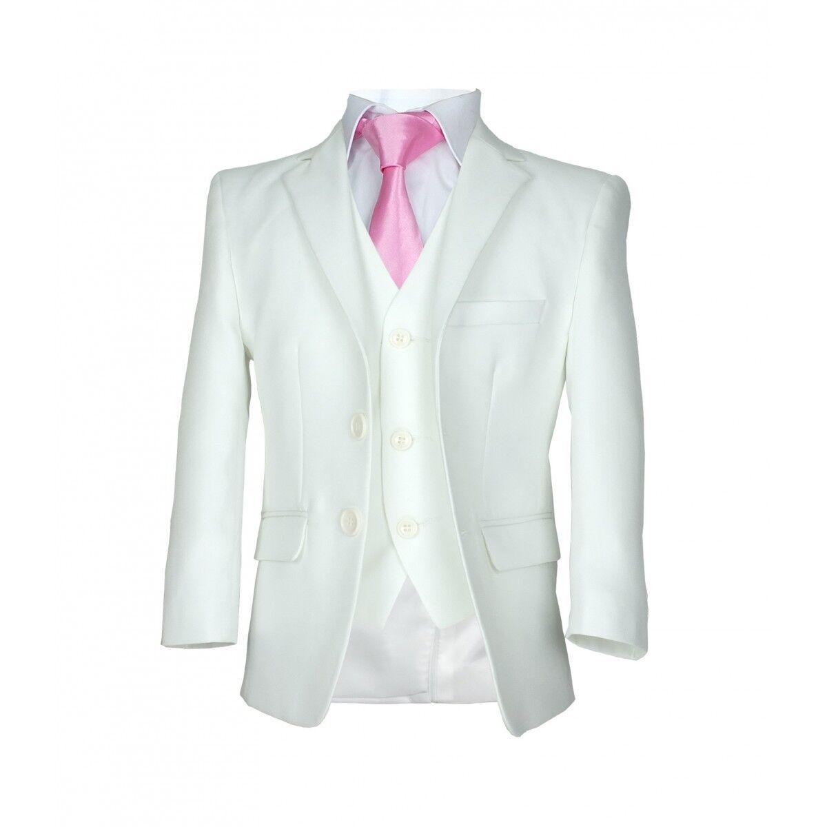 Boys Formal Ivory Communion Suit Italian Wedding Page Boy