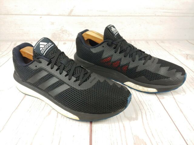 Adidas Vengeful Boost AQ6083 Running Shoes Mens Size 9 Black / White Sneakers