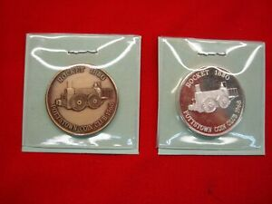 1968-POTTSTOWN-COIN-CLUB-PENNSYLVANIA-999-SILVER-BRONZE-ANNIV-MEDALS